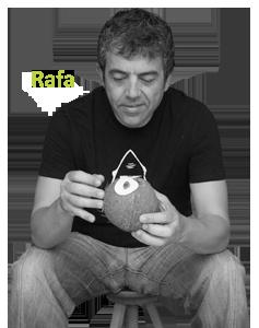 Rafa Robles Diseño gráfico equipo de trabajo 4cocos