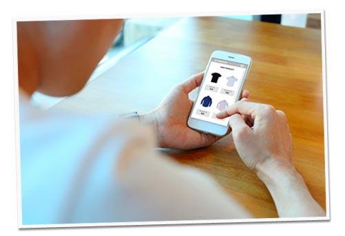 tienda online en cualquier dispositivo móvil