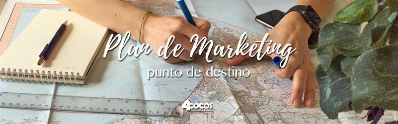 Punto de destino, objetivos del plan de marketing